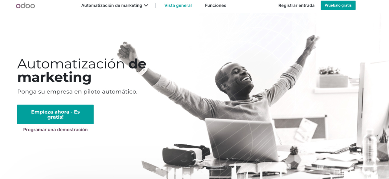 Marketing automatizado en Odoo