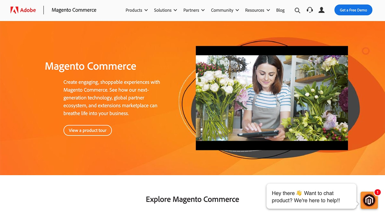 Magento Commerce enterprise Magento